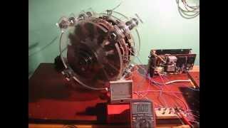 Магнитный двигатель-2. Неодимовые магниты. Приближение к Бедини.(Описание на сайте http://tet.in.ua E-mail Metro55@rambler.ru., 2015-03-24T11:49:07.000Z)