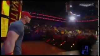 """Crowd Sings """"John Cena Sucks"""" on RAW"""