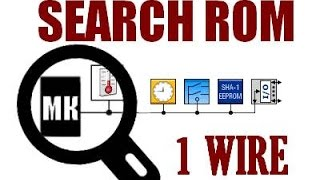 62. 1 Wire команда SEARCH ROM (Урок 53. Теория)