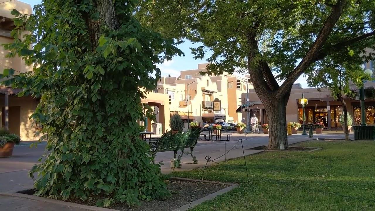 A Look At Downtown Santa Fe