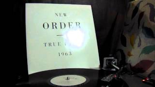 New Order - True Faith (Shep Pettibone Remix) (Vinyl Rip)