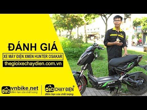 Đánh giá xe máy điện Xmen Hunter Osakar