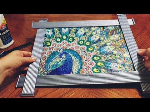 Из чего можно сделать рамку для картины своими руками
