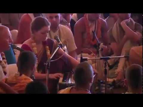 Kripamoya Prabhu at Kirtan Mela Mayapur 2014 Day 2 | Bhakti, Bhajan, Kirtan of Mahamantra | ISKCON