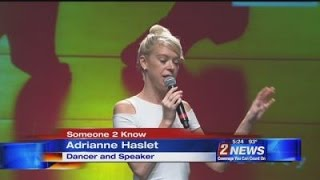 6/22 5pm Someone 2 Know: Adrianne Haslet