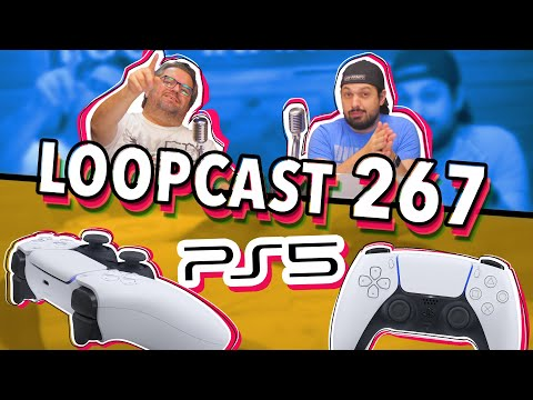 O NOVO CONTROLE DO PLAYSTATION 5! - Loopcast 267!