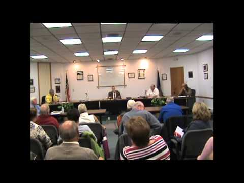 Rouses Point Village Board meeting part one  10-19-15