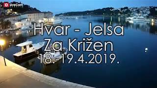 Za Križen, procesija - Hvar, Jelsa - 18.-19.4.2019.