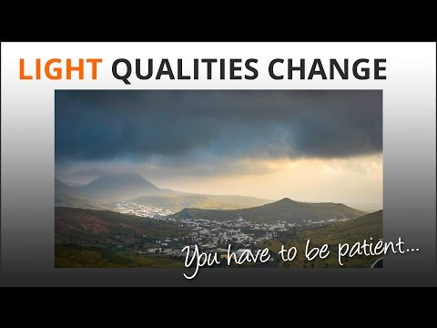 Photography Tips: Light Qualities Change