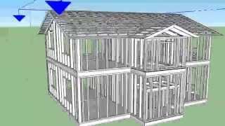 Как экономно построить дом по эффективному проекту в 3D своими руками