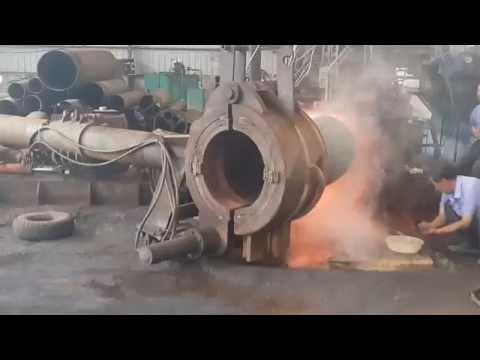 Производство гнутых отводов, гнутых труб, стальных колен по ТУ, ГОСТ, ОСТ на заводе в Китае
