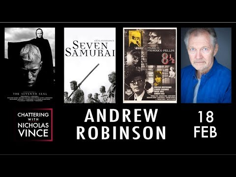 Chattering with Andrew Robinson