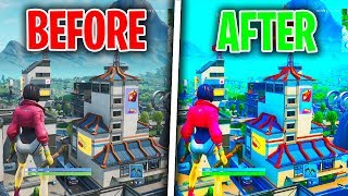 BEST FORTNITE SEASON 9 GRAPHIC SETTINGS! HOW TO MAKE FORTNITE LOOK BETTER! PS4/XBOX/PC BATTLE ROYALE