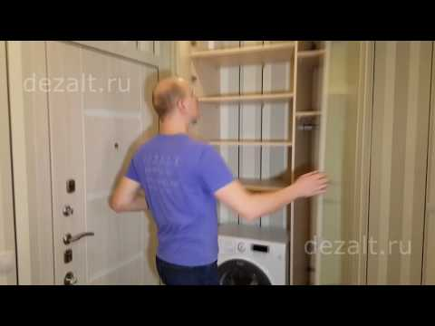 Шкаф распашной с зеркальными дверьми