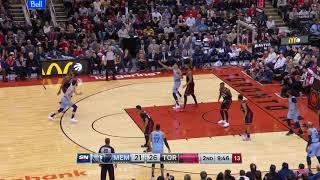 2nd Quarter, One Box Video: Toronto Raptors vs. Memphis Grizzlies