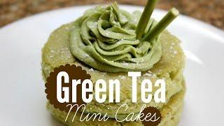 How To Make Green Tea (matcha) Mini Cakes | Rachel Republic