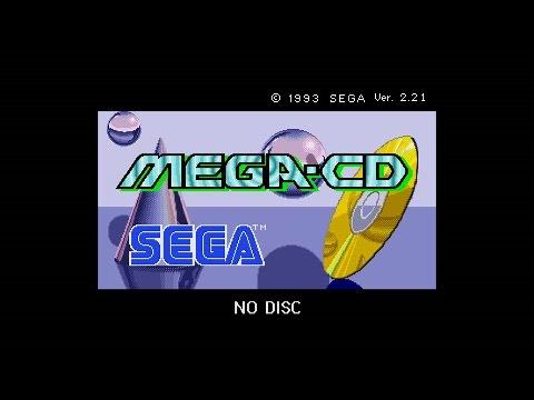 Sega Mega CD - Japanese & European BIOS Music Extended