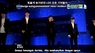 Video BEAST/B2ST - On Rainy Days [LIVE] [Hangul-Romanization-Indo subs] download MP3, 3GP, MP4, WEBM, AVI, FLV Juli 2018