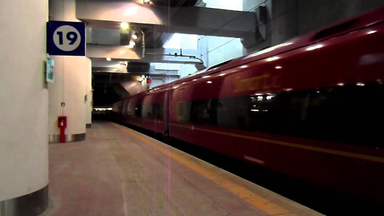 binario treno italo