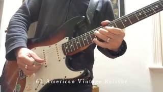 59 vs 62 Fender American Vintage Reissue