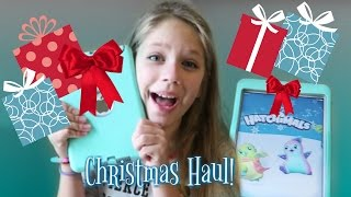What I Got For Christmas Haul 2016 | Opening a Hatchimal | Hopes Vlogs