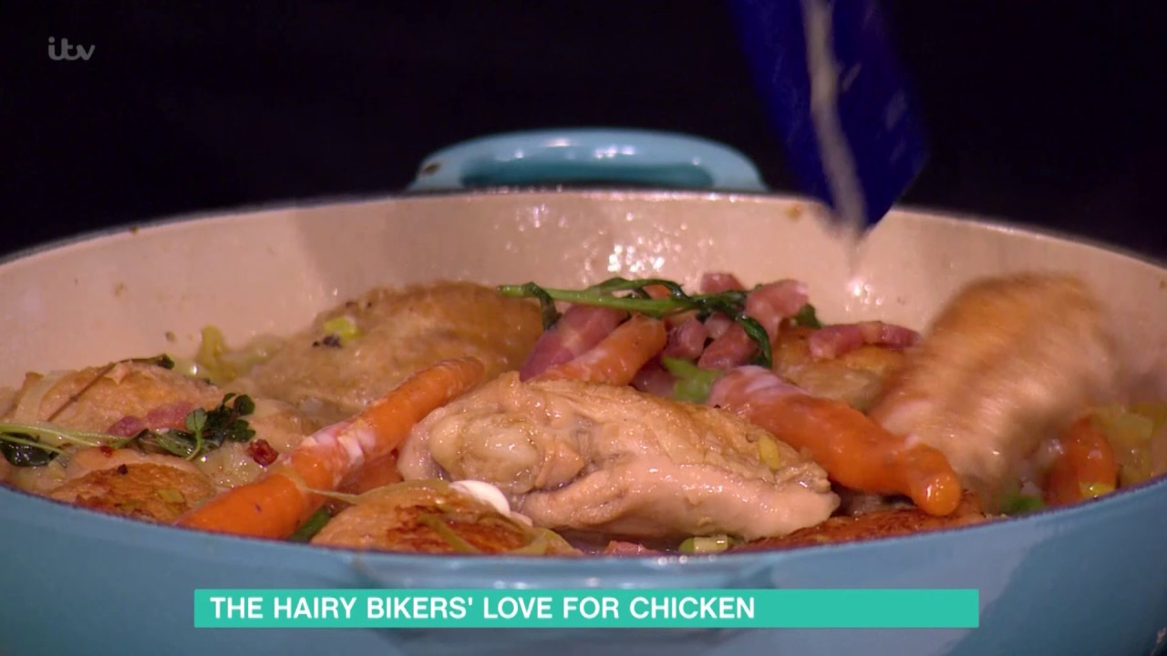 the hairy bikers' one pot chicken | this morning - youtube