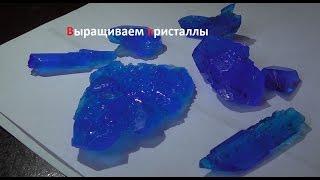 Как вырастить кристаллы дома. ( Make Home # 85 )(В этом видео я расскажу вам , как вырастить красивые кристаллы в домашних условиях, из доступных компоненто..., 2015-04-18T11:11:36.000Z)