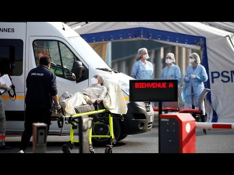 France Evacuates More Coronavirus Patients From East To Free Up Hospital Beds