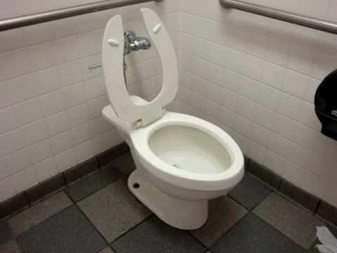 pressurized Eljer toilet at Burger King  YouTube