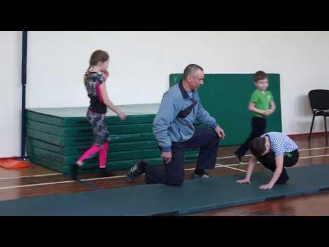 Акробатика для начинающих детей видео уроки