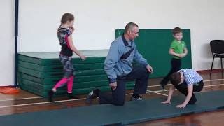 Урок №1 -  акробатика