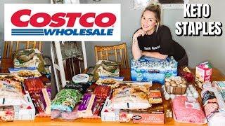 🛒 SHOPPING AT COSTCO FOR KETO FOODS / KETO COSTCO HAUL / DANIELA DIARIES
