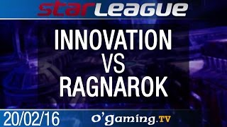 INnoVation vs Ragnarok - TvZ - 2016 SSL S1 - Ro16