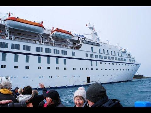 Astor Cruise Ship, Tendering