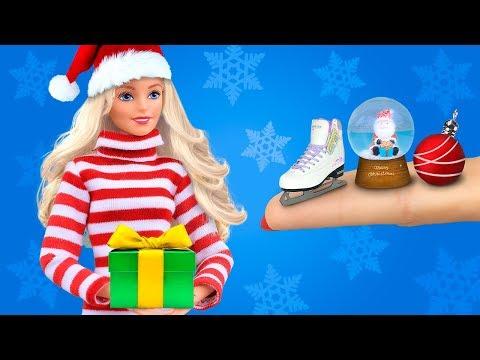 25 лайфхаков и поделок для Барби / Новогодние идеи для Барби