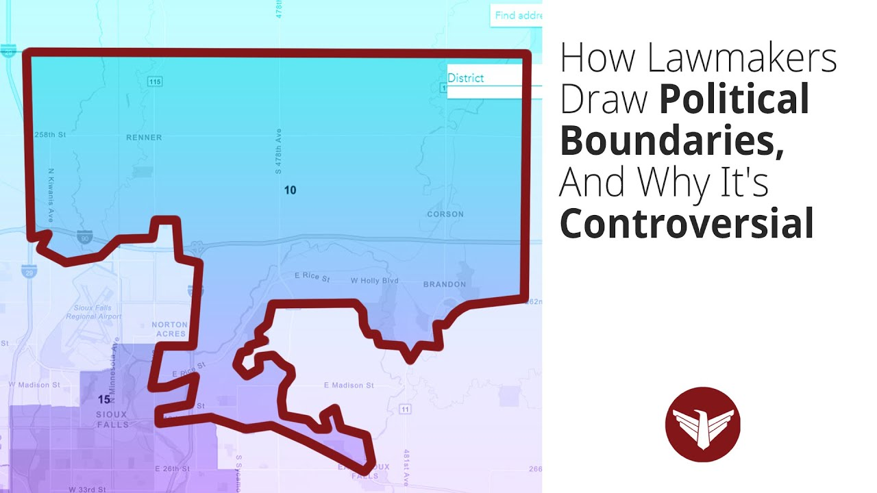 How Lawmakers Draw Political Boundaries in South Dakota, And Why It's Controversial