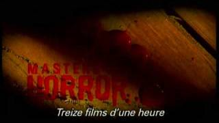 Masters of horror saison 1 - bande annonce
