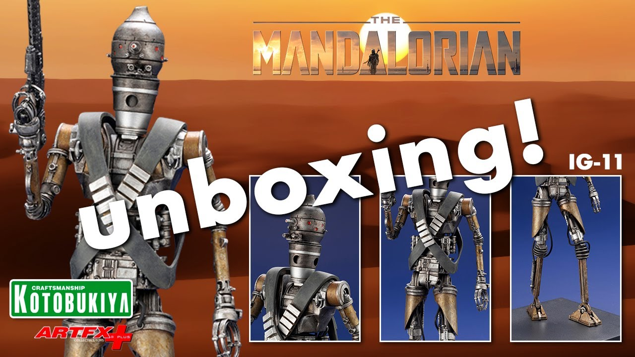 STAR WARS MANDALORIAN ARTFX STATUE 1:10 scale in stock ready to ship