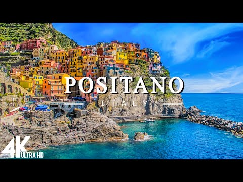 Positano 4K - Scenic Relaxation Film With Calming Music