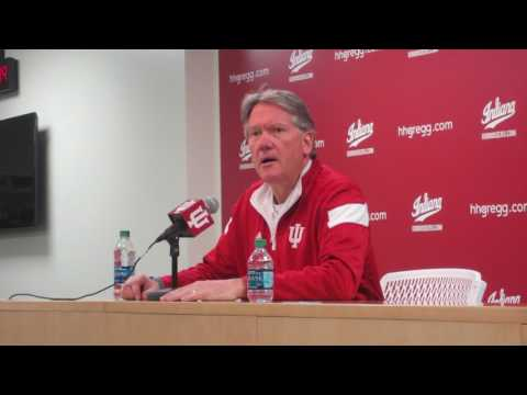 Indiana Director of Athletics Fred Glass' announces Tom Crean's firing (Part 1 of 4)
