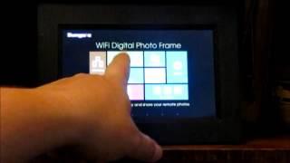 Sungale Wifi Digital Photo Frame