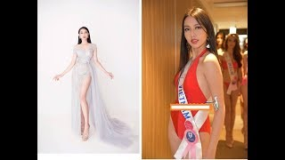 Nguyễn Thúc Thùy Tiên trình diễn bikini tại Miss International và nhược điểm hình thể