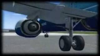 The aerodynamics of flight.
