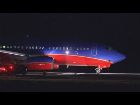 A Southwest Airlines plane lands at wrong airport in US