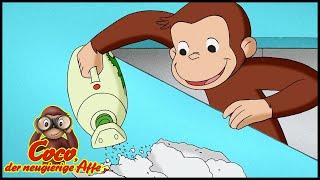 Coco der Neugierige Affe 🐵 Coco Räumt Auf 🐵 Cartoons für Kinder | Coco der Affe Ganze Folgen