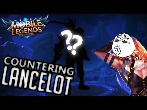 MUST KNOW LANCELOT COUNTER! R.I.P. LANCELOT! MOBILE LEGENDS SABER RANKED GAMEPLAY