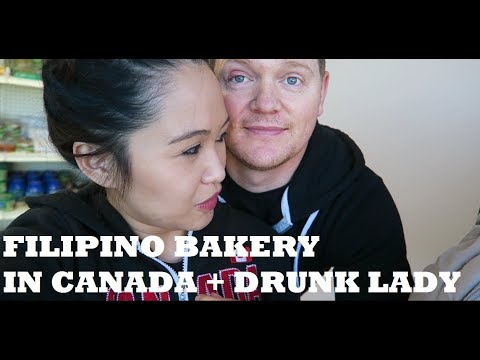 FILIPINO BAKERY IN CANADA + DRUNK LADY AT THE MALL