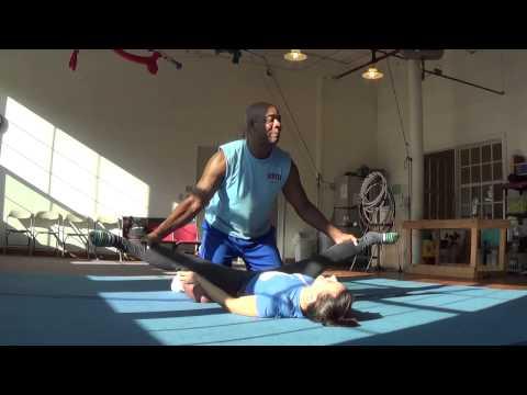splits stretching  funnycattv