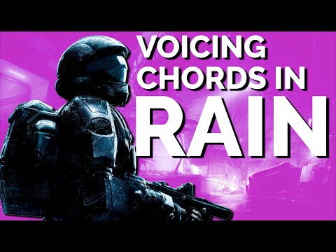 """Chord Voicings in Halo 3: ODST's """"Rain"""""""
