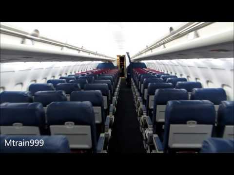 Delta MD88 cabin tour (Comfort +)